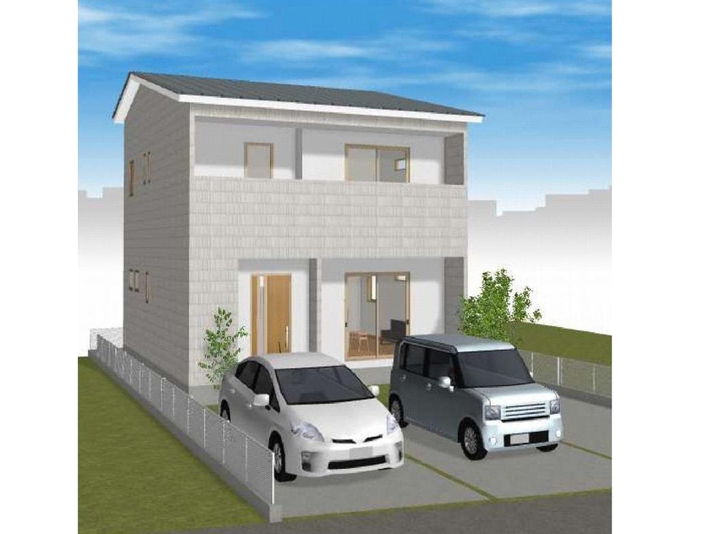 ■ 高知市神田/2号地 3LDK+WIC(建築条件付き:プラン例)